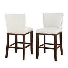 Steve Silver Company TF650CCWN Tiffany Counter Chairs - Set of 2 NEW