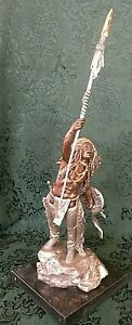"""RED CLOUD'S COUP by CA Pardell-1988 Legends Pewter Sculpture LE # 242/750  15"""" T"""
