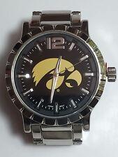 New Iowa Hawkeyes Mens Watch, Bracelet, Metal, Gift for Him Anniversary