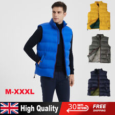 Premium Heated Vest Jacket Body Warmer Puffer Duck Down Winter Down Cotton Vest