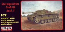 Canon anti-chars Allemand STUG III Ausf. F - KIT ATTACK HOBBY KITS 1/72 n° 72820