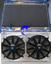 ALUMINUM RADIATOR & SHROUD & FANS FOR 2000-2009 Honda S2000 I4 MT 00-09 07 2008