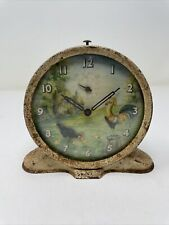 Vintage Smith Gr. Britain Rocking Rooster Alarm Clock