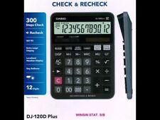 Casio Mj-120D Plus Check & Correct Desktop Calculator Office Original free Ship