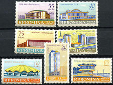 Mint Never Hinged/MNH Architecture Postage European Stamps