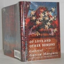 Of Love and Other Demons  Garbriel Garcia Marquez Nobel Prize for Lit. First ed