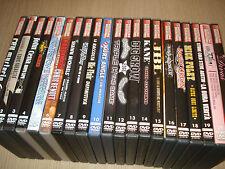 OPERA COLLECTION COMPLETA WRESTLING SUPERSTARS 21 DVD ORIGINALI AUDIO ITA-ENG