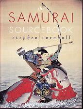 SAMURAI SOURCEBOOK STEPHEN TURNBULL 1998 1ST EDITION SAMURAI HISTORY & CULTURE