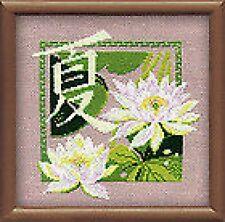 """Summer Cross Stitch Kit (Riolis 811) 7.75 """"x 7.75"""""""