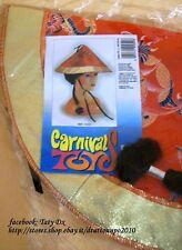 ART.CARNEVALE CAPPELLO CINESE CON CODINO NERO  cod.2630