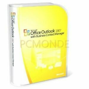 Microsoft Office Outlook 2007 with Business Contact Manager (NFA-00023)
