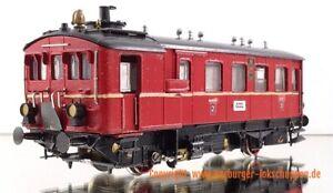 H0 Rarität Merker & Fischer Kleinserie Kittel Dampftriebwagen rot DB Ep:III (TH
