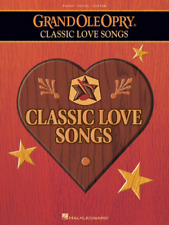 THE GRAND OLE OPRY-CLASSIC LOVE SONGS--PIANO/VOCAL/GUITAR MUSIC BOOK-NEW ON SALE