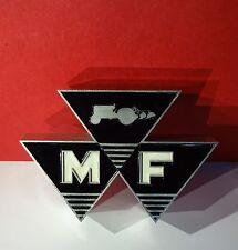 Original altes MASSEY FERGUSON Traktor Schlepper Emblem Top Zustand