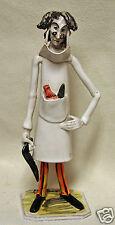 Dino Bencini - Signed Italian Ceramic Pottery Figure Figurine - Surgeon Doctor