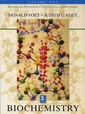 Biochemistry, Vol. 1: Biomolecules, Mechanisms of Enzyme Action, and Metabolism