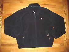 Polo Ralph Lauren Polartec Navy Zip Front Fleece Jacket  Men's XL NYZ6