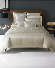 Hotel Collection Crystalle FULL/QUEEN Duvet Cover CHAMPAGNE Bedding $310 D123