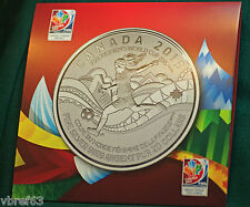 2015 CANADA cardboard holder for $20 for $20 FIFA Soccer - #15 in series no coin