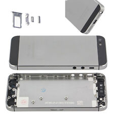 New Metal Replace Battery Door Housing Back Cover Case For Apple iPhone 5S Gray