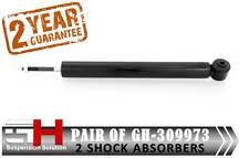 2 NUOVI AMMORTIZZATORI OLIO POSTERIORE per VW Lupo, SEAT AROSA (GH)/GH-309973/