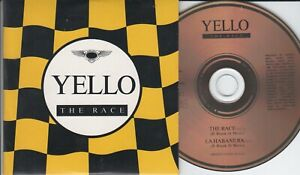 Yello  CD-SINGLE  THE RACE  ©  1988    EXTENDED VERSION 13:22 min  CARDSLEEVE