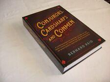 MAGIC BOOK - CONJURORS, CARDSHARPS AND CONMEN (NEW - HARDBOUND)