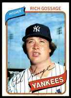 1980 Topps Rich Goose Gossage C #140