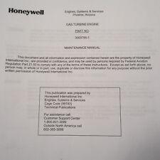 Honeywell Gas Turbine RE100(CS) pn 3800785-1 Maintenance & Parts Manual