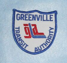"GREENVILLE TRANSlT AUTHORITY Patch - 3 5/8"" x 3 3/4"" - South Carolina"