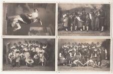 4 x Foto Ak Pinzgauer Volkstrachten Erhaltungs Verein Zell am See 1929 ! (A2191