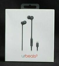 urBeats3 Wired Earphones Lightning Connector, Black