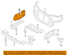KIA OEM 10-13 Forte Under Radiator/Engine-Splash Shield Cover Right 291202H000