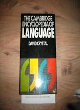 The Cambridge Encyclopedia of Language,David Crystal- 9780521264389