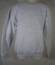 Fruit of the Loom  Youth Boy's Fleece Crew Sweatshirt - Size Medium - Light Gray