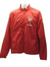 Neuf Nike Vintage Arsenal Football Club Perforé Veste Survêtement ROUGE M
