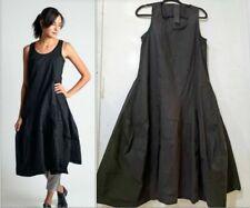 Rundholz Black Label sleeveless linen balloon dress  size L NEW $439