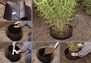 Wurzelstopp 3,50x0,60m Wurzelsperre Rhizomsperre Rhizom Bambussperre 4,54€/m