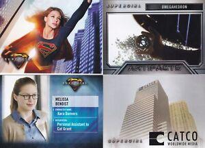 2018 Cryptozoic Supergirl Mini Master Set 99 Cards Base & 3 Chase Sets & wrapper