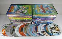 Large Mixed Lot of Children's DVD's Over 30 Movies! Disney, Cartoons + Much More