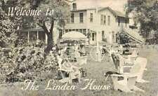 Greene Co New York Linden House Courtyard Antique Postcard K70313