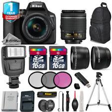 Nikon D3500 DSLR Camera + 18-55mm VR + Flash + Extra Battery + 1yr Warranty