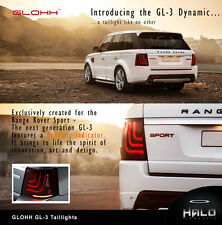Glohh GL-3 Dynamic Range Rover Sport Rear LED Tail Lamp Light Lights 2005 - 2013