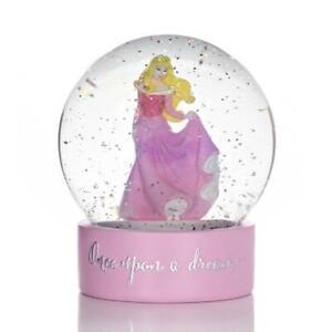 NEW Disney Princess Snowglobe Aurora Sleeping Beauty - Baby Gift - Snow Globe