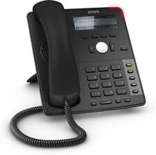 Snom D712 Black Schwarz | mit Netzteil | VoIP Telefon | NEU !!!!