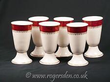 LIMOGES ensemble de six tasses à café