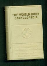 1950's The World Book Encyclopedia Plastic Promotional Bank