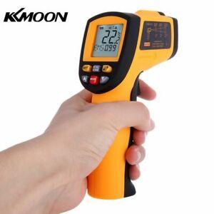 KKmoon IR Thermomètre Infrarouge de Laser Sans Contact de -50 à 900 ℃ Ecran LCD