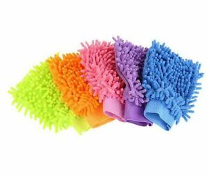 Microfibe Super Mitt Super Absorbent Car Cleaner Duster Polisher Buffer Washing