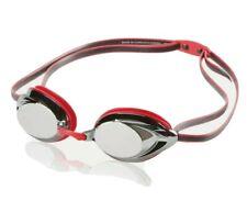 New listing Speedo Vanquisher 2.0 Mirrored Swim Competitive Racing Goggles Unisex Red New